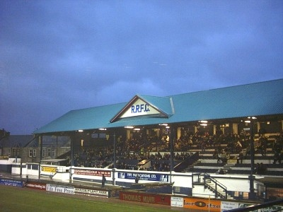 The Main Stand at Starks Park