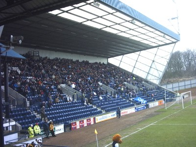 The South Stand at Starks Park